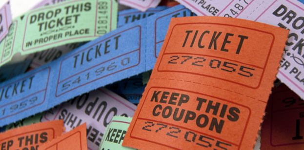 tickets perforated numbered ebs printing